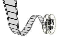 filmrulle Arkivbild