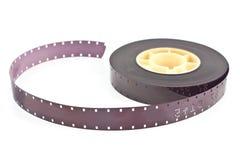 filmrulle för mm 16 Arkivbilder