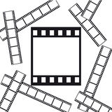 Films background Stock Images