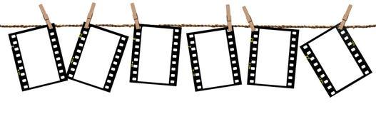 Films de transparence comme fond Photos libres de droits