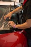 Films des véhicules à moteur de techniciens Photo libre de droits