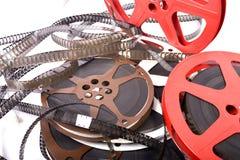 Films en spoelen Stock Fotografie