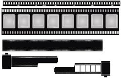Films isolated Stock Image