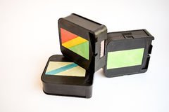 Films. Old cinema camera. Film vintage Royalty Free Stock Images