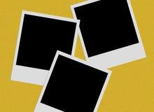 Films polaroïd photographie stock libre de droits