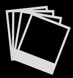 Films polaroïd photo stock