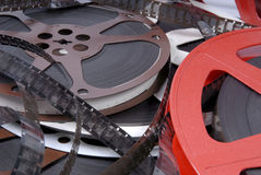 Films and reels Royalty Free Stock Image