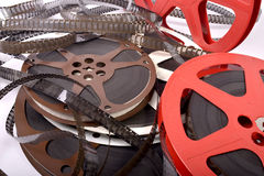 Films and reels Royalty Free Stock Photo