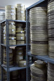Films were stored. In the archive Stock Photos