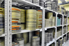 Films were stored Stock Photo
