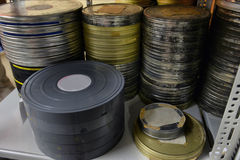Films were stored. In the archive Royalty Free Stock Images