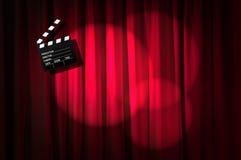 Filmscharnierventilbrett Stockbild