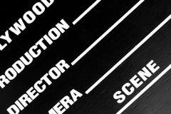 Filmscharnierventilvorstand Stockbilder