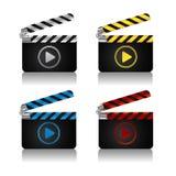 Filmscharnierventilvorstandikonen lizenzfreie abbildung