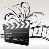 Filmschindel Stockbild