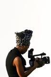 filmskytte Fotografering för Bildbyråer