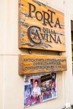 Filmstandort der Dämmerungs-Saga: Neumond in Montepulciano, Italien Stockbild