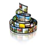 Filmstreifen Lizenzfreie Stockbilder