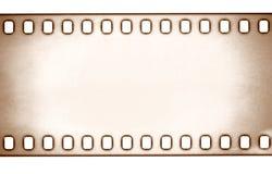 Filmstreifen auf weißer background Stockfotografie