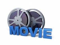Filmstreifenfilm Lizenzfreie Stockfotos