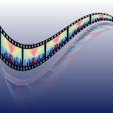 Filmstreifenspule Lizenzfreies Stockfoto
