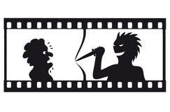filmstrip διάνυσμα έντασης Στοκ Φωτογραφίες