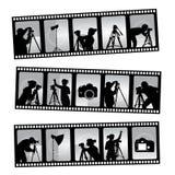 Filmstrip съемки Стоковое Изображение