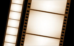 filmstrip查出的向量 免版税库存照片