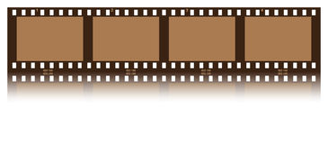 Filmstrip. Illustration of a film created with CS3 Royalty Free Stock Image