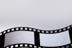 Filmstrip. Photo filmstrip with a gray background Stock Image