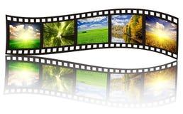 Filmstrip images stock
