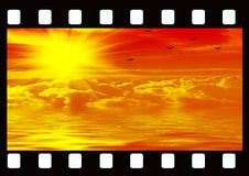 filmstrip Obrazy Royalty Free