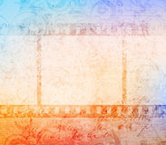Filmstrip. Background with old grungy filmstrip. eps10 vector Stock Photos