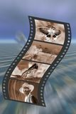 Filmstrip. Immagine Stock
