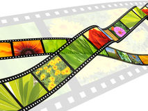 Filmstrip libre illustration