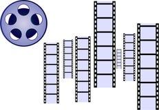 Filmstrip. S sound media enterainment photography Stock Photo