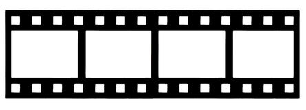 Filmstrip Foto de Stock Royalty Free