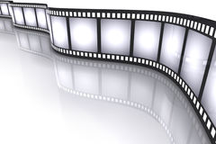 Filmstrip. Concept of Industry cinematographic Royalty Free Stock Image