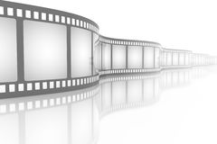 Filmstrip royalty free illustration