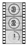 Filmstrip. Cinema Filmstrips in white background Royalty Free Stock Photos