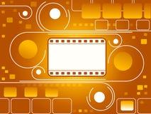 Filmstrip background Stock Photos
