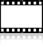 Filmstrip background Stock Image