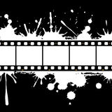 Filmstrip background frame. Illustration of film negatives frame on the abstract background Royalty Free Stock Images