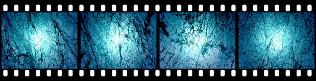 Filmstrip Background. Suitable for Custom Text and Images Stock Images