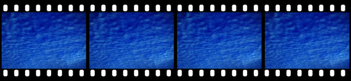 Filmstrip Background. Suitable for Custom Text and Images Royalty Free Stock Photo