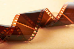 Filmstrip closeup Stock Photography