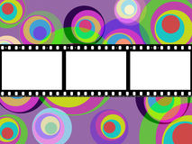 Filmstrip Copyspace Indicates Color Colour And Multicoloured Stock Photos