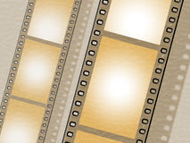 Filmstrip Copyspace Indicates Photo Photography And Design. Filmstrip Copyspace Showing Design Blank And Backgrounds Stock Photo