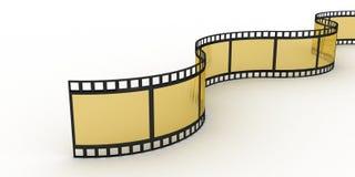 Filmstrip, 3D Zdjęcie Stock