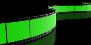 Filmstrip, 3D Royalty Free Stock Images